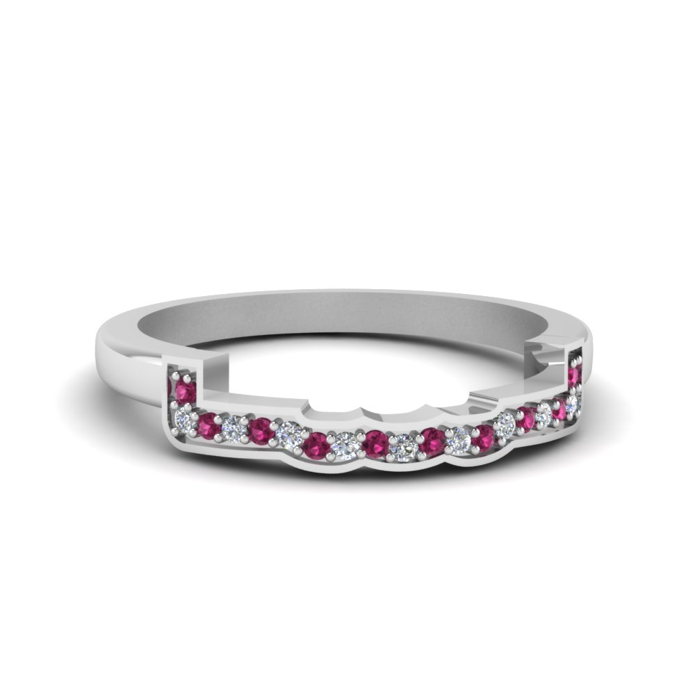 contour curved diamond wedding band with pink sapphire in FDENS3309BGSADRPI NL WG.jpg