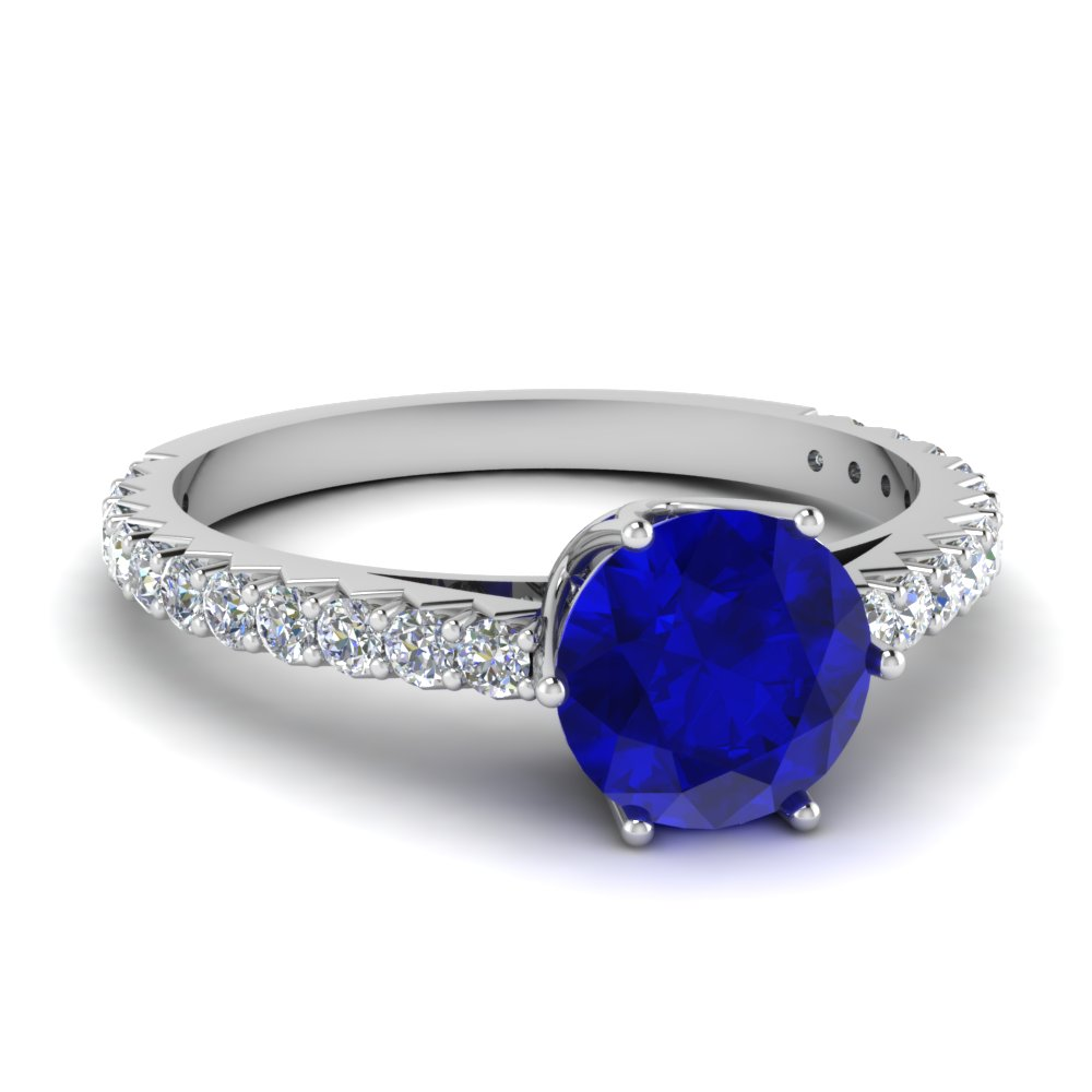rings engagement bridal anniversary ring blue jewellery sapphire plain fullxfull gold diamond il white band