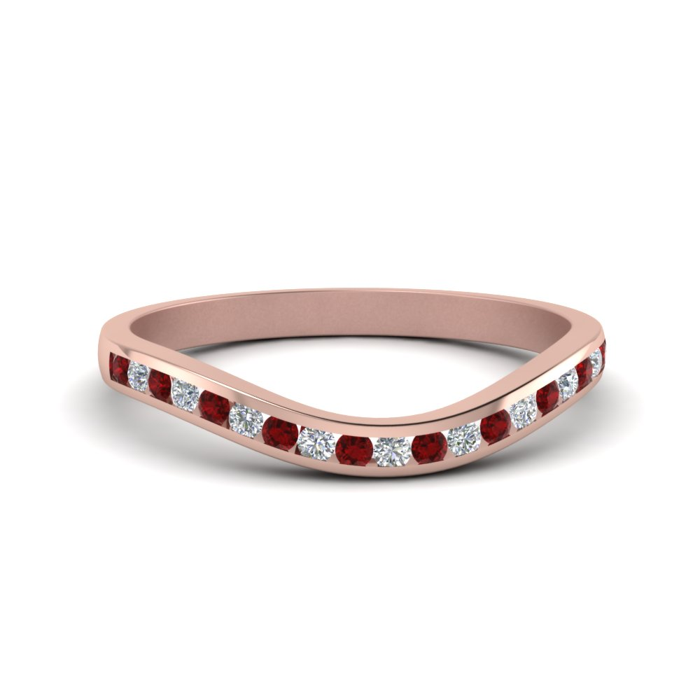 Ruby Curved Band