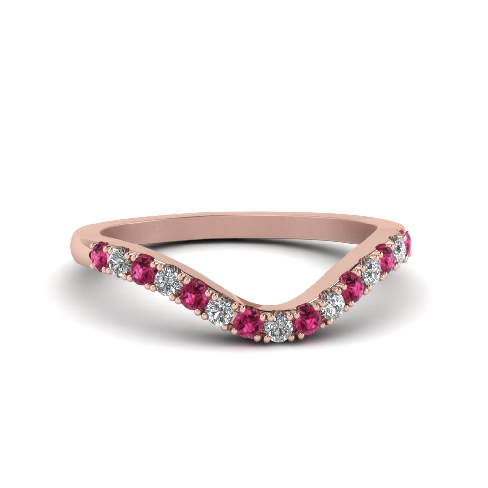 curved-delicate-diamond-band-with-pink-sapphire-in-14K-rose-gold-FDENS2232BGSADRPI-NL-RG