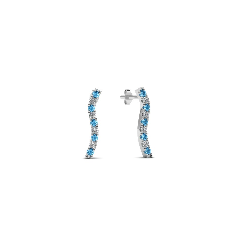 curved-stud-diamond-earring-for-women-with-blue-topaz-in-FDEAR8107GICBLTO-NL-WG