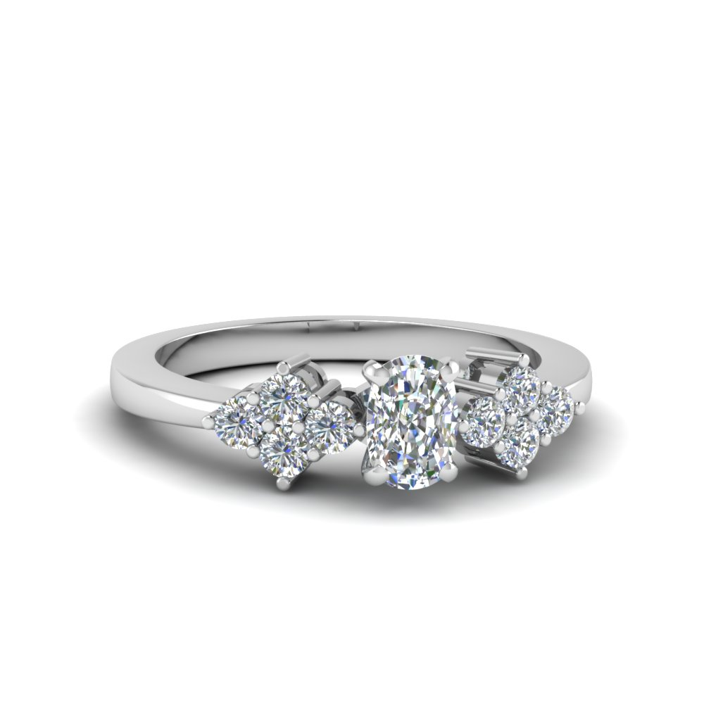 Cluster Diamond Ring For Women