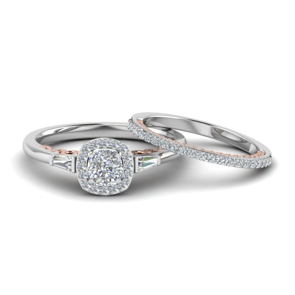 SKU: FD122910C. The Antique Halo Diamond Wedding Ring ...