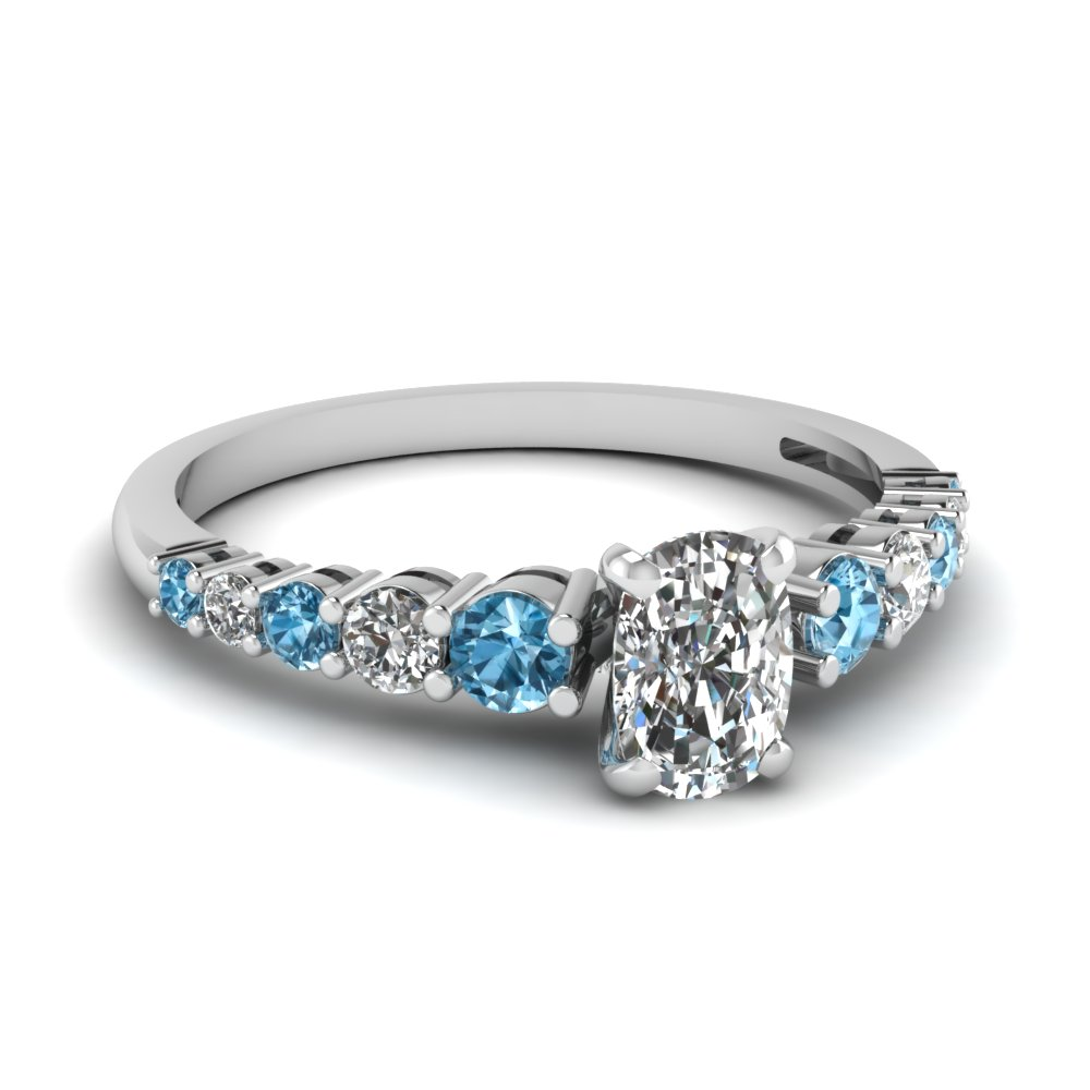 engagement diamonds design set rings your accent blue certified diamond own bezel