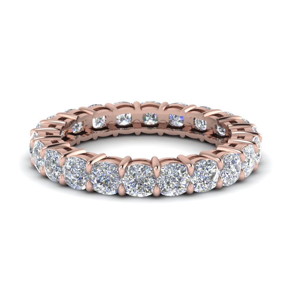 product gold diamond band bands pinkband eternity pink rose