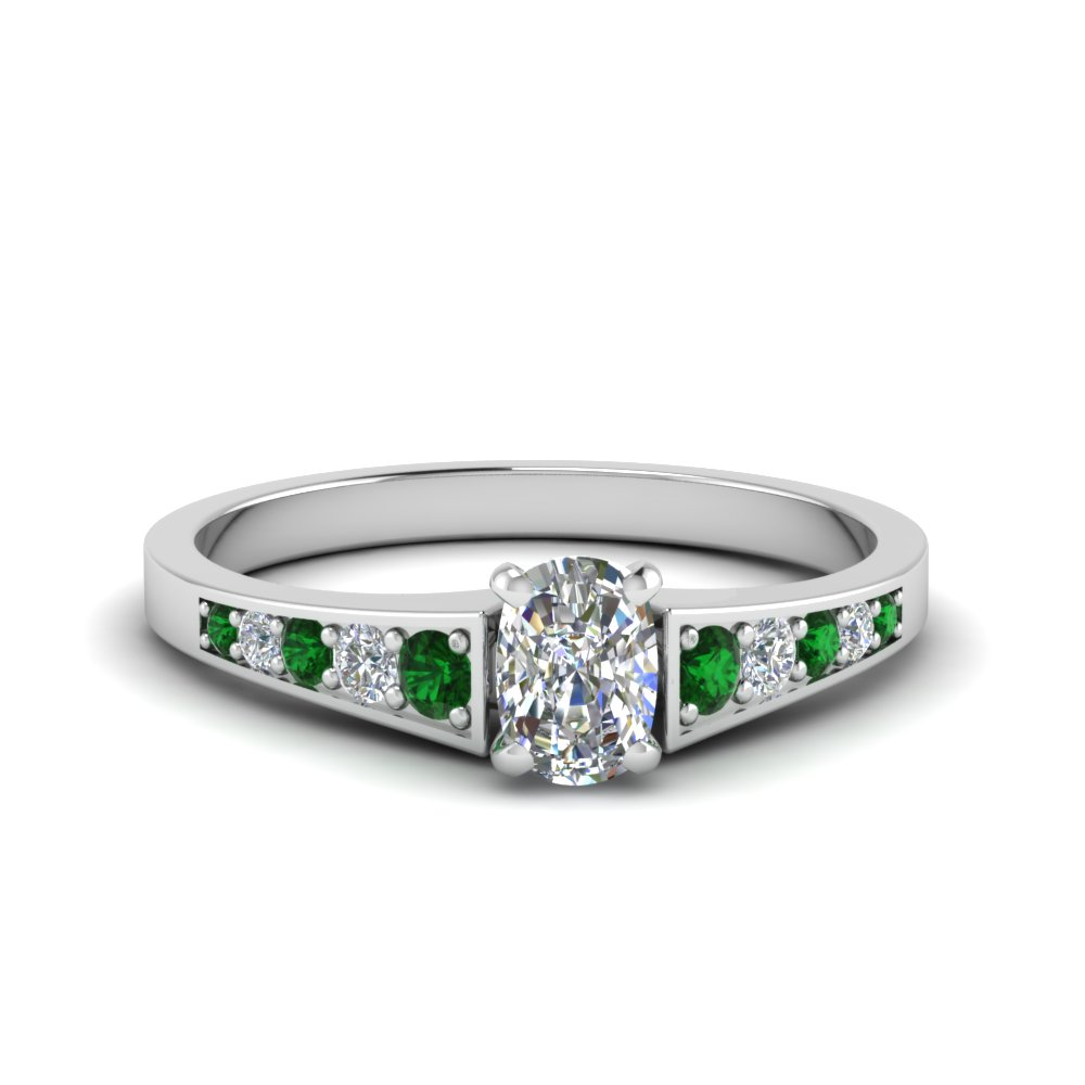ba21882933c53 Graduated Pave Accent Diamond Ring