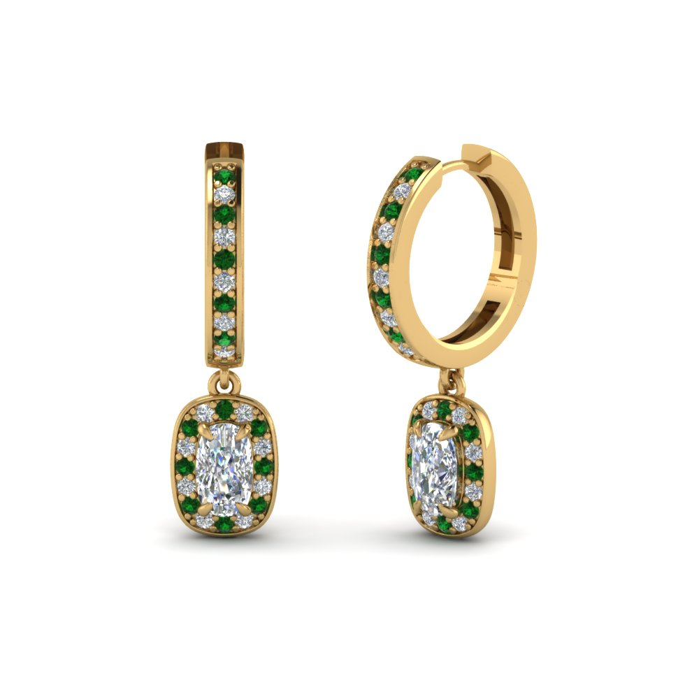 Shop Women Earring In Emerald