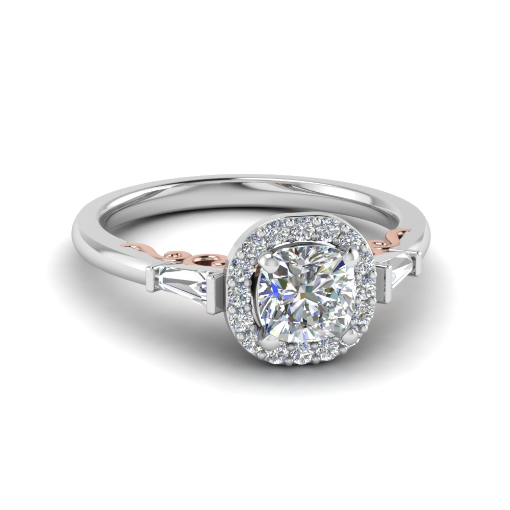 Purchase Our Diamond Jewelry With Baguettes| Fascinating Diamonds