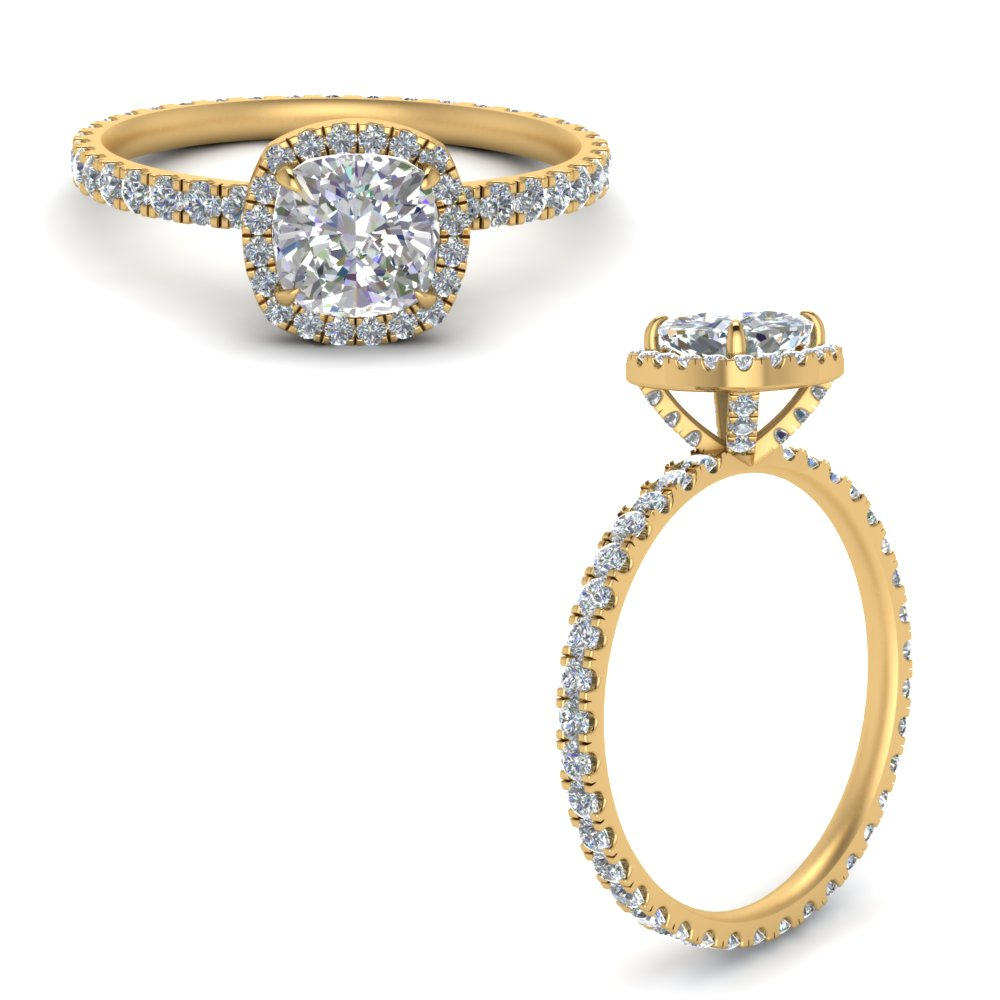 cushion-cut-halo-eternity-diamond-ring-in-FD9372CURANGLE3-NL-YG