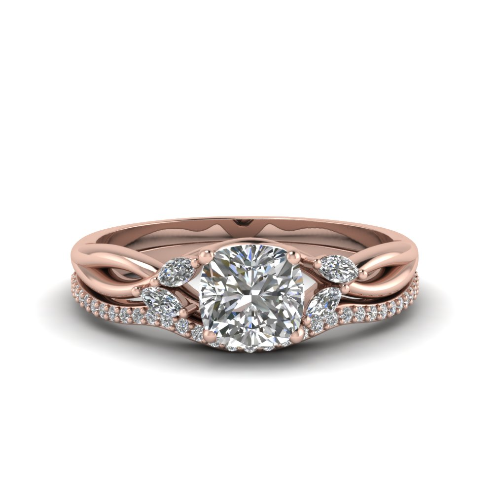 Get Engagement Rings With Marquise Accents| Fascinating Diamonds
