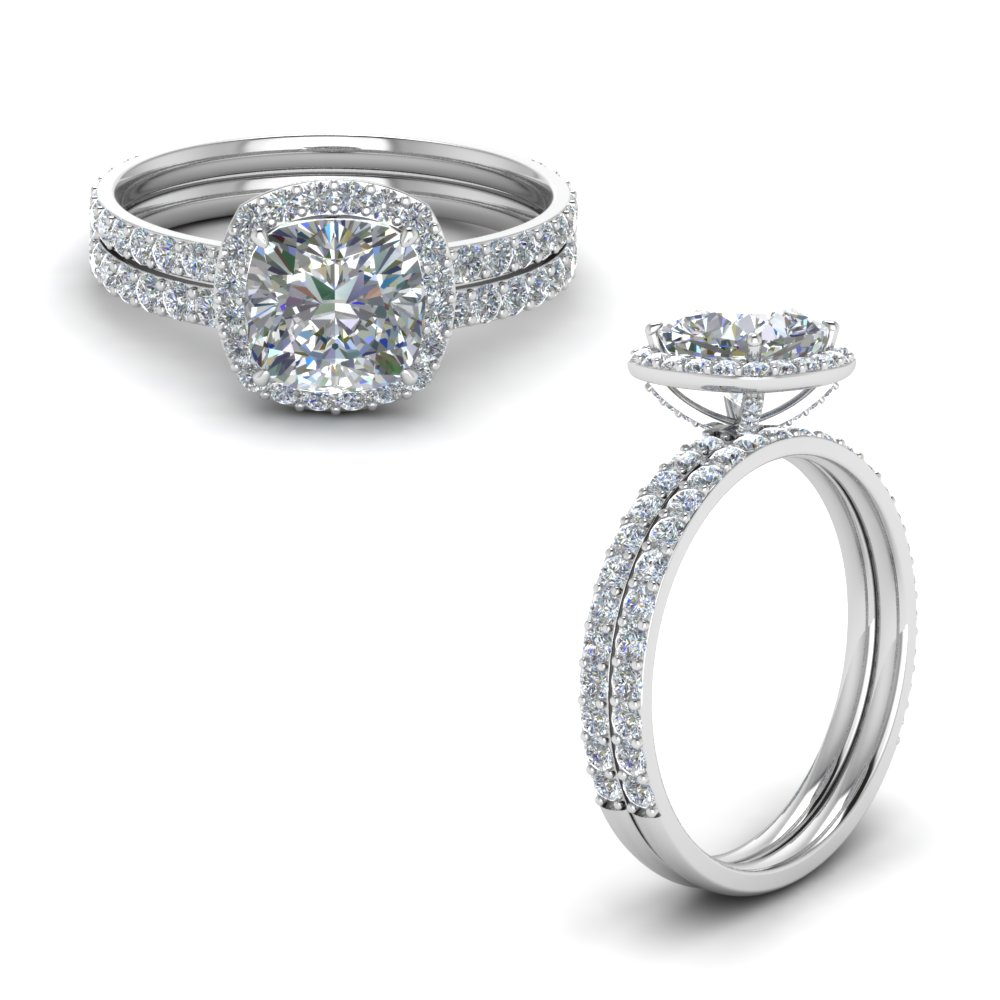 cushion halo diamond wedding ring set in FD8507CUANGLE1 NL WG.jpg