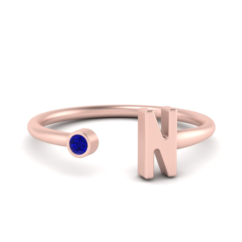 custom-initial-open-ring-with-sapphire-in-FDW9321GSABL-NL-RG