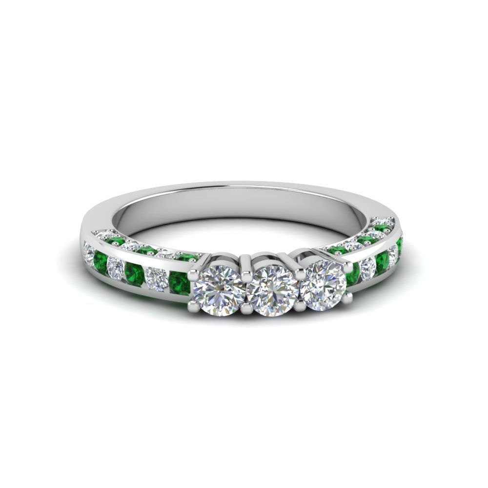 Custom Round Diamond Band