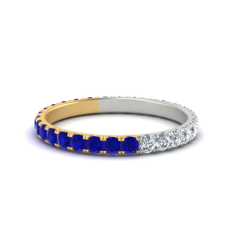 day-and-night-eternity-diamond-band-with-sapphire-in-FDEWB8371( 0.75ct)GSABL-NL-YG-GS