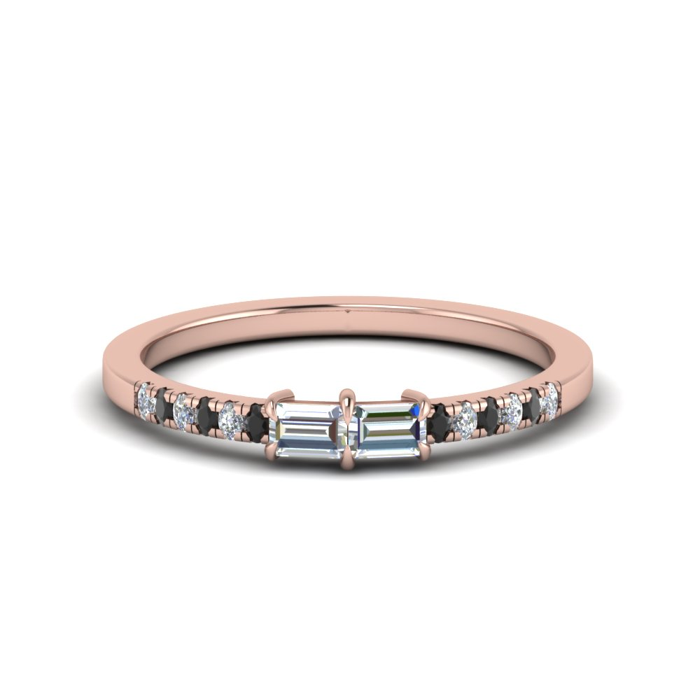 Baguette Diamond Band For Women