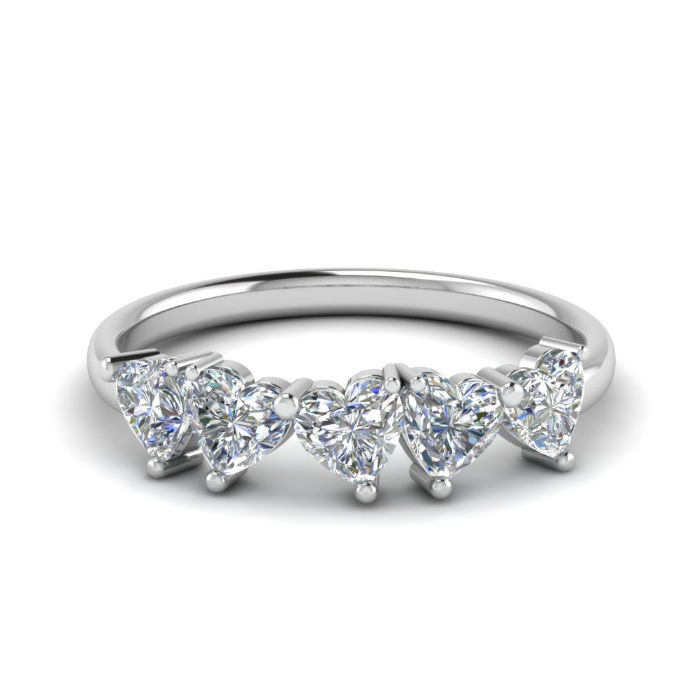 delicate-5-stone-diamond-heart-shaped-wedding-band-1.25-carat-in-FD8911-NL-WG