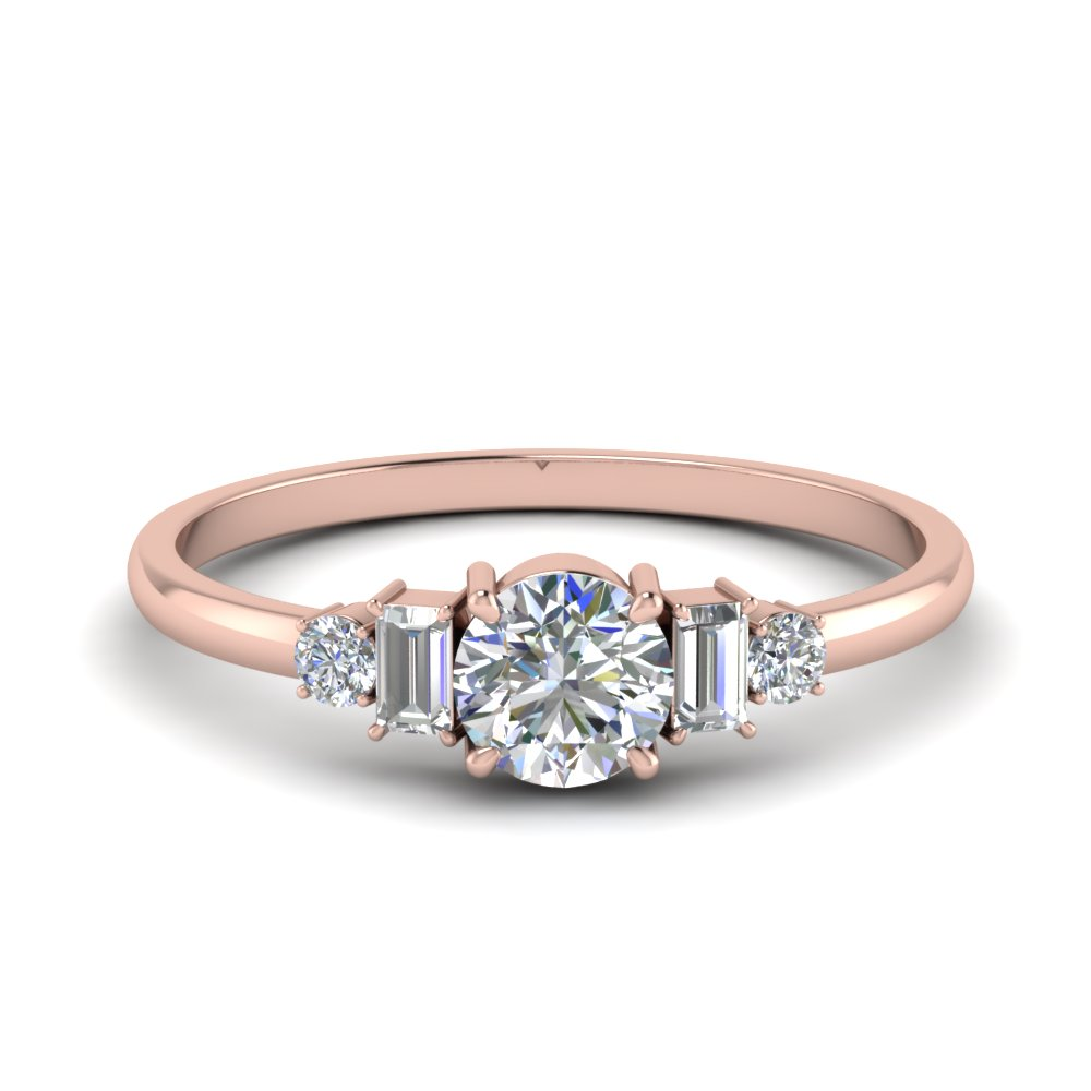delicate baguette diamond wedding ring in FD9002RO NL RG.jpg