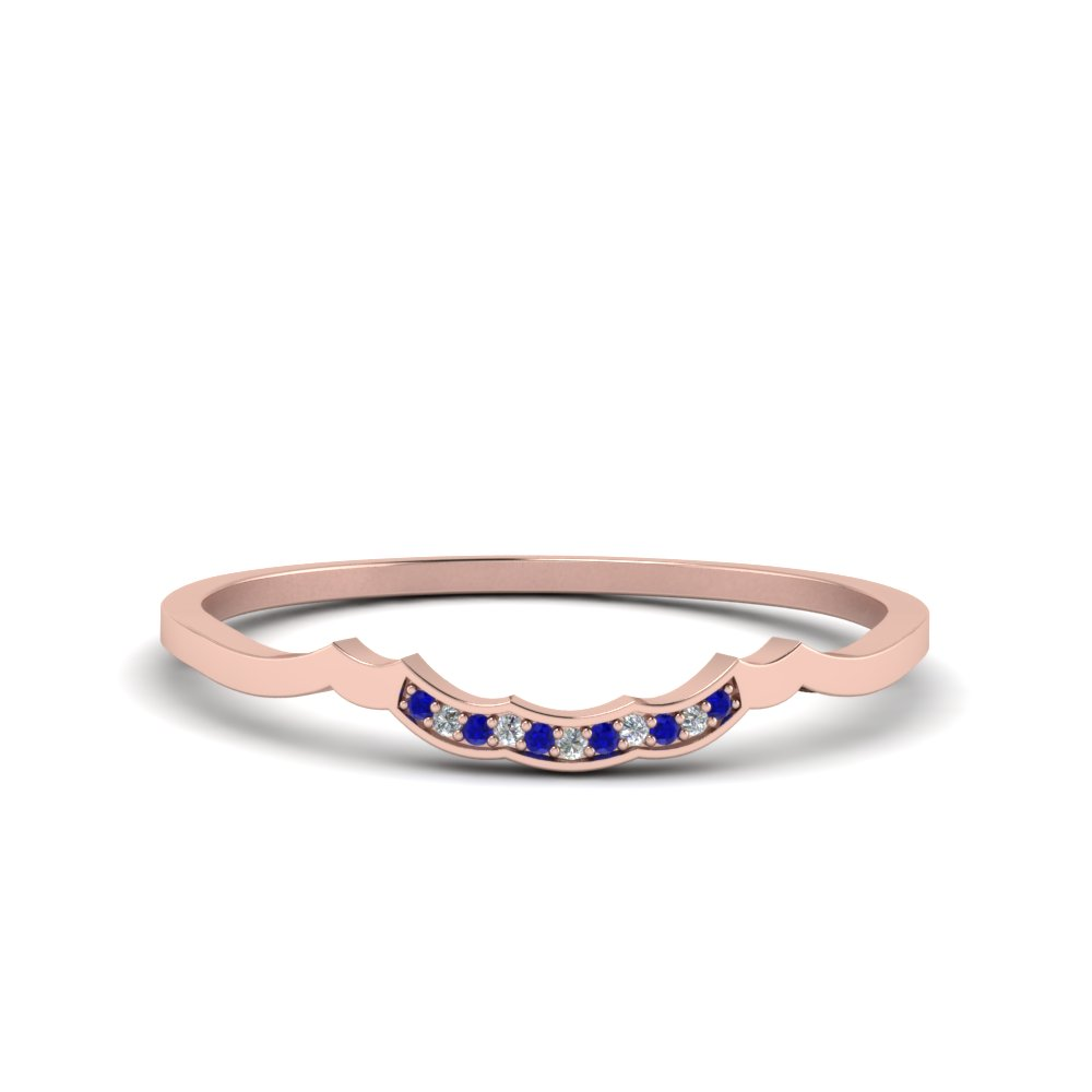 cheap size unique ring brand sapphire fashion v white infinity band