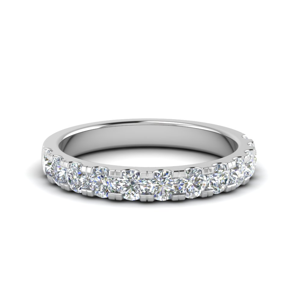 Delicate Diamond Wedding Ring One Carat In Fd8370 1 0ctb Nl Wg