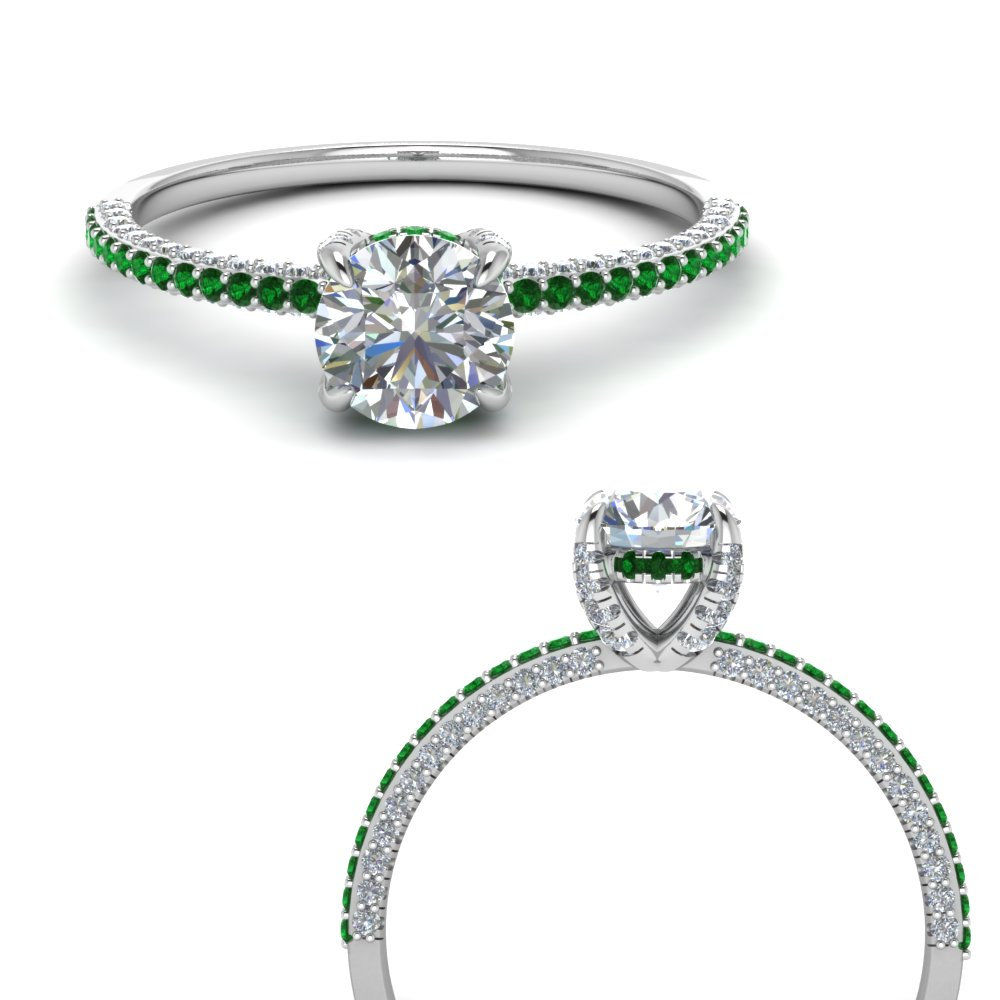 delicate-hidden-halo-diamond-engagement-ring-with-emerald-in-FD9134ROGEMGRANGLE3-NL-WG