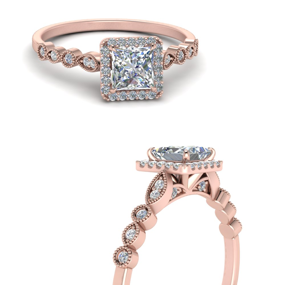 delicate-vintage-princess-cut-halo-lab diamond-engagement-ring-in-FD121599PRRANGLE3-NL-RG