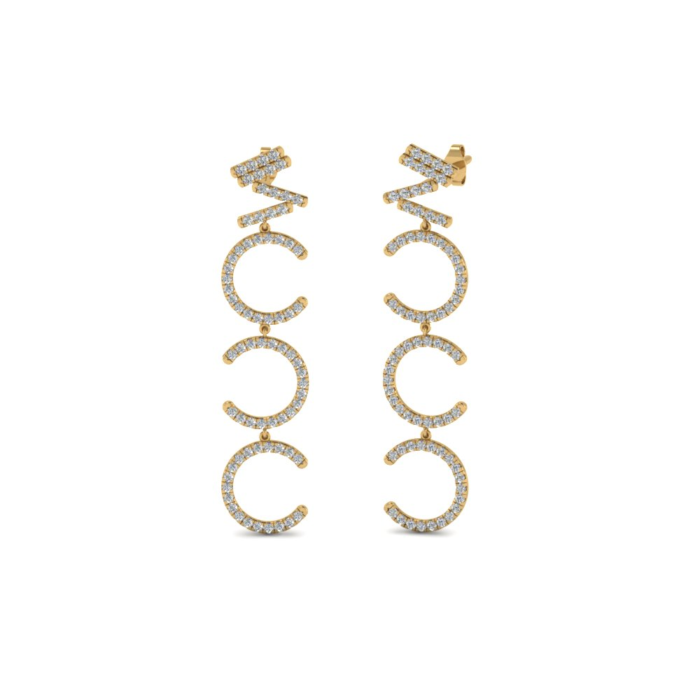 Cascade Diamond Earring
