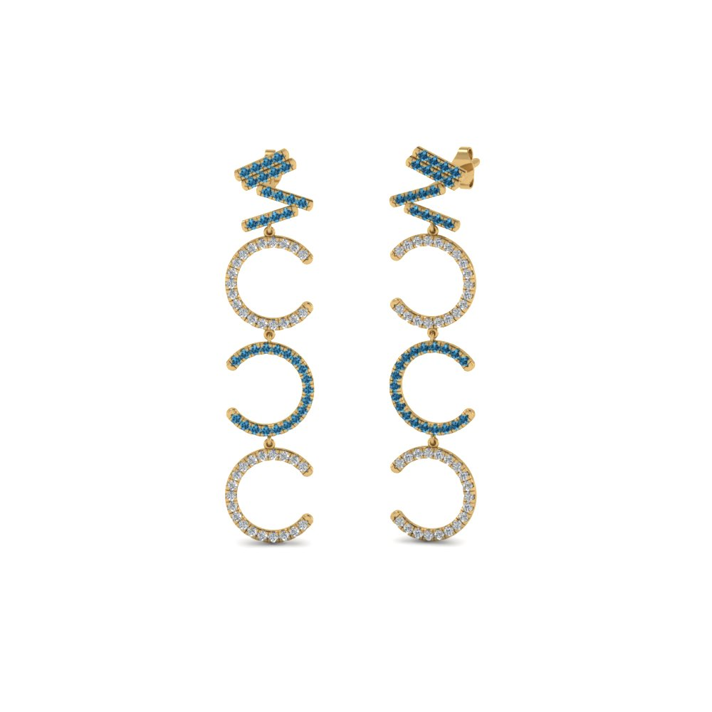 Topaz Earring For Women