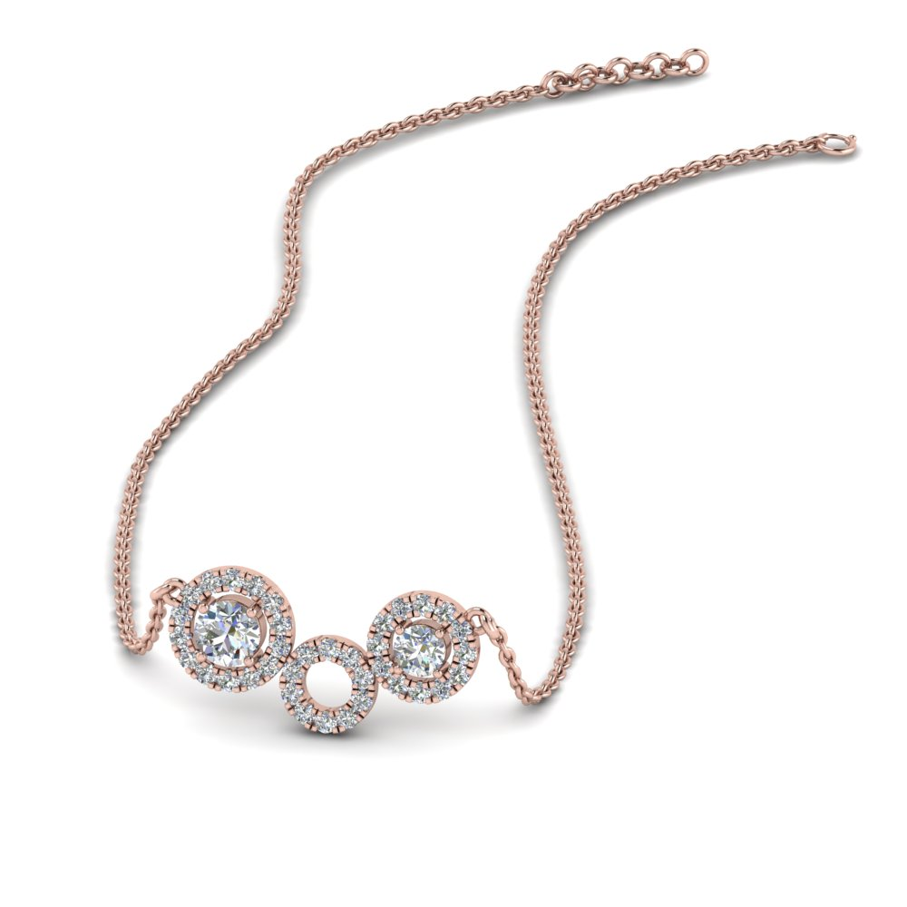 Necklaces for Women with White Diamond