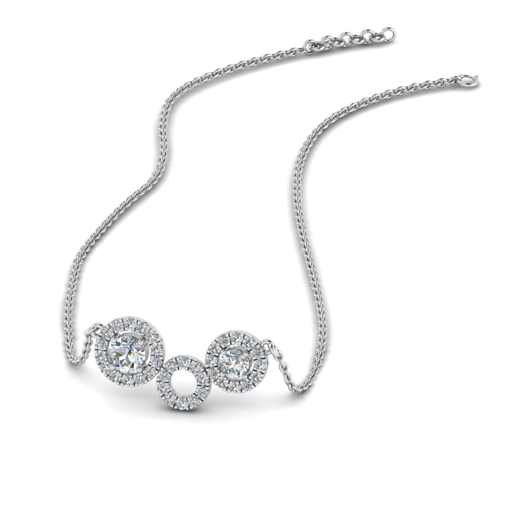 diamond circle pendant necklace in FDPD8935 NL WG.jpg