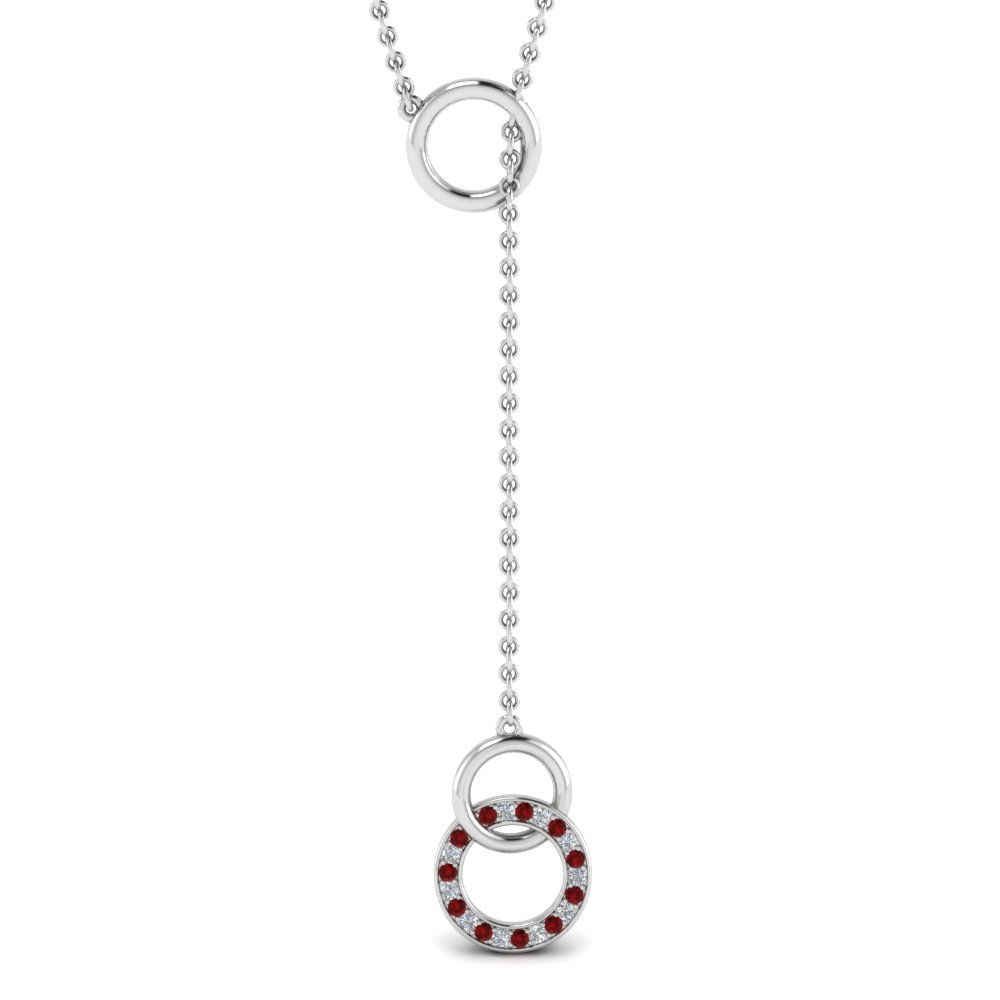 diamond-circle-y-necklace-with-ruby-in-FDPD652310GRUDRANGLE1-NL-WG