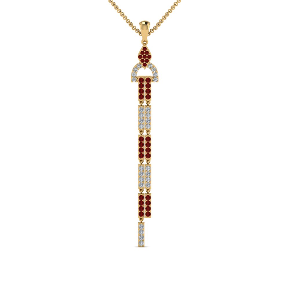 Ruby Necklace For Women