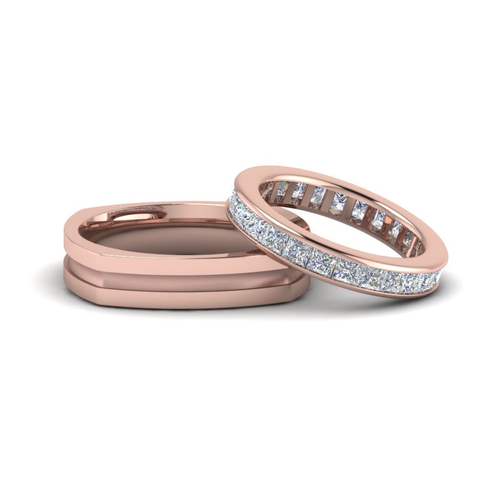 Eternity Ring and Band For Couples