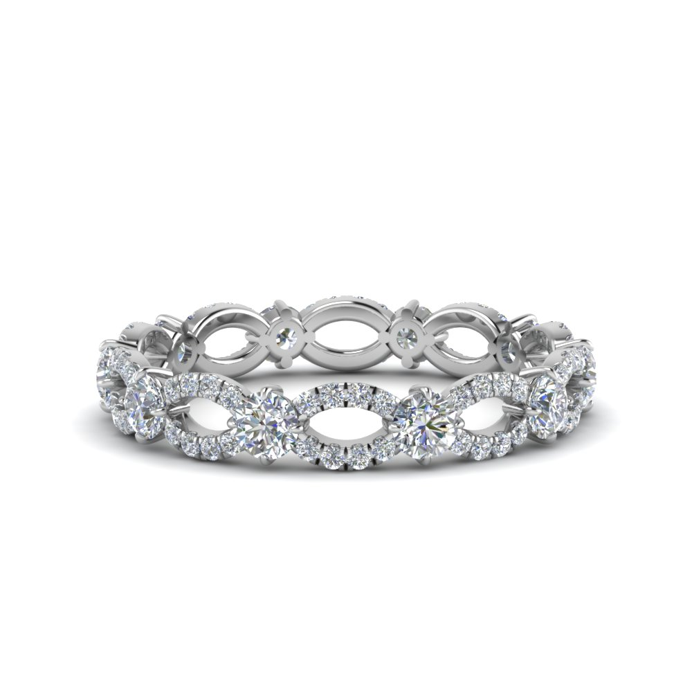 diamond eternity ring in 18K white gold FDEWB8376B NL WG