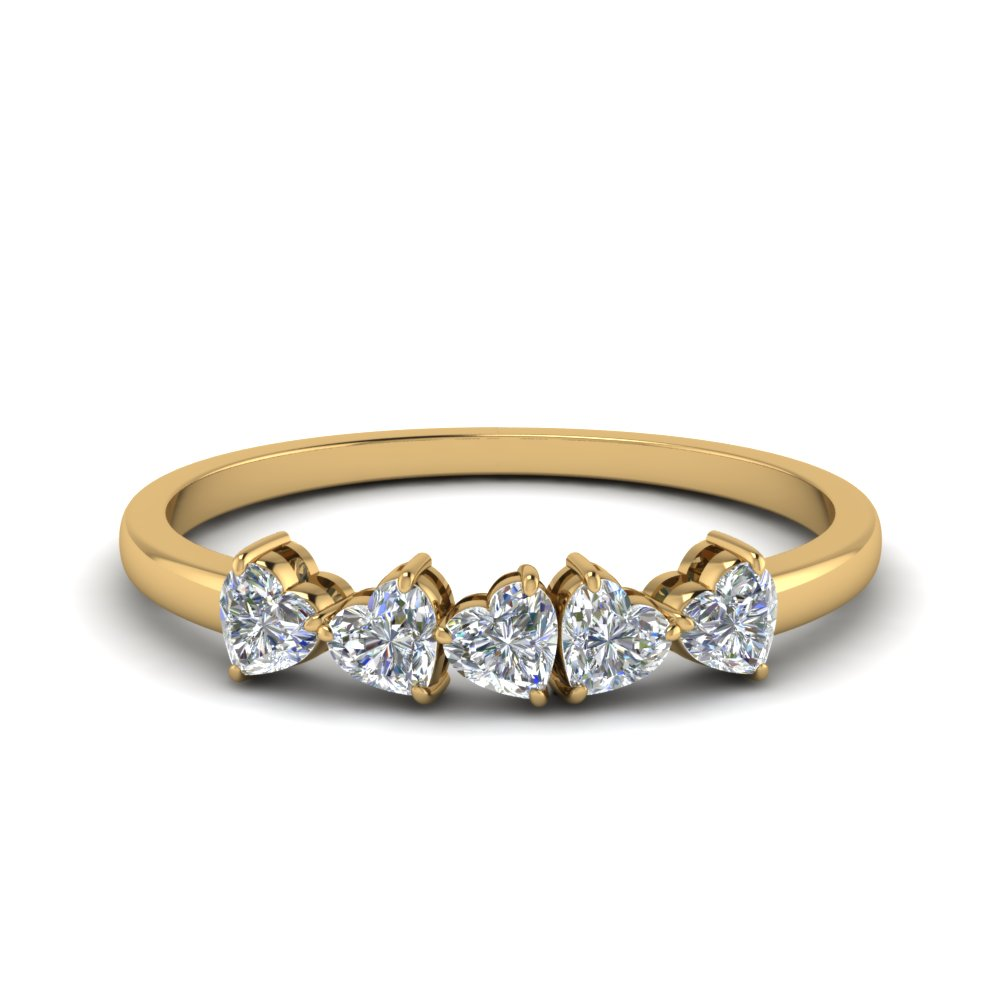 1.25 Carat Diamond 5 Stone Ring
