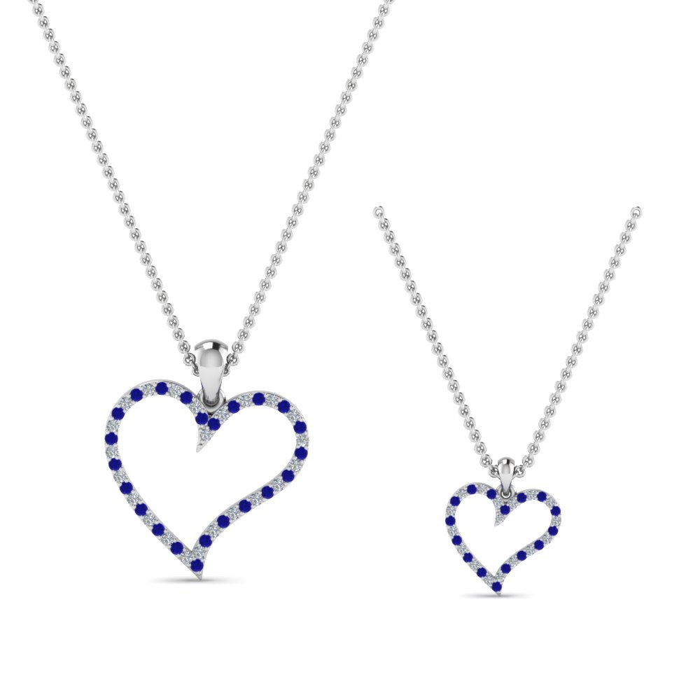 diamond-heart-necklace-for-mom-daughter-with-sapphire-in-FDPD9066MD-K-GSABLANGLE2-NL-WG