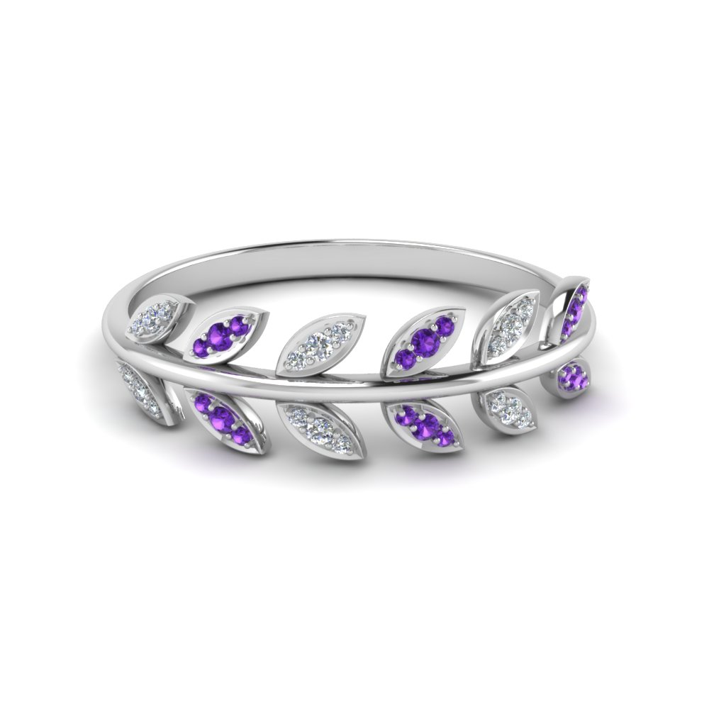Cheap Purple Topaz Band