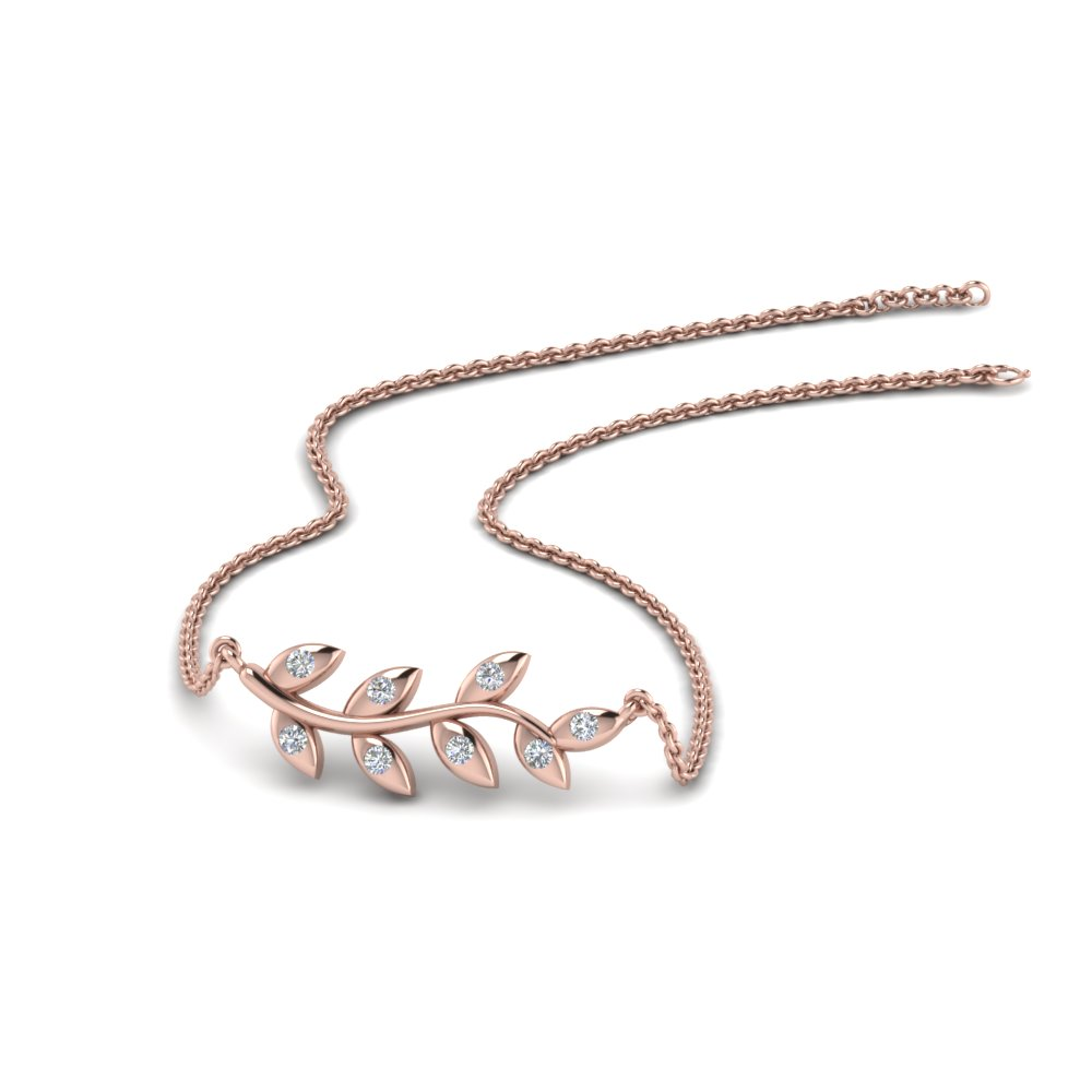 Branch Mom Diamond Necklace
