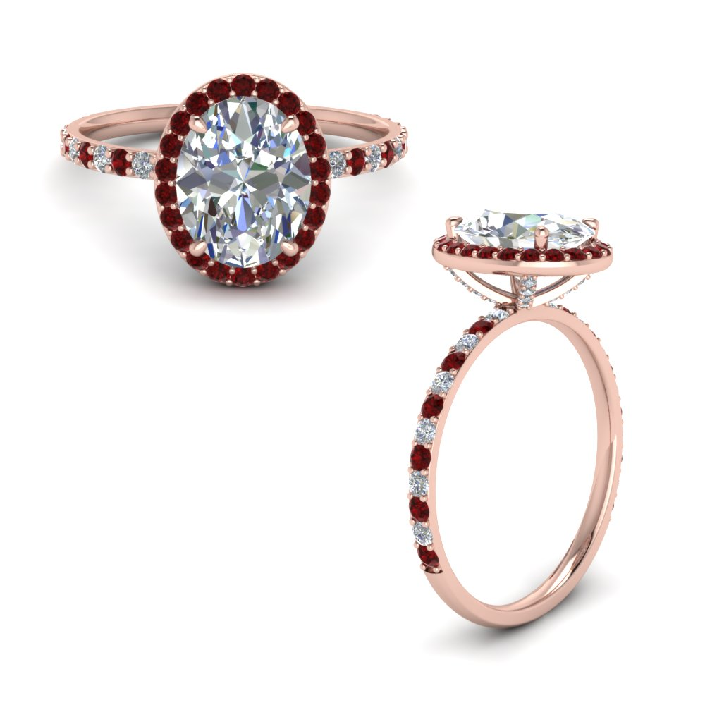 Popular 20 Halo Rings For Her