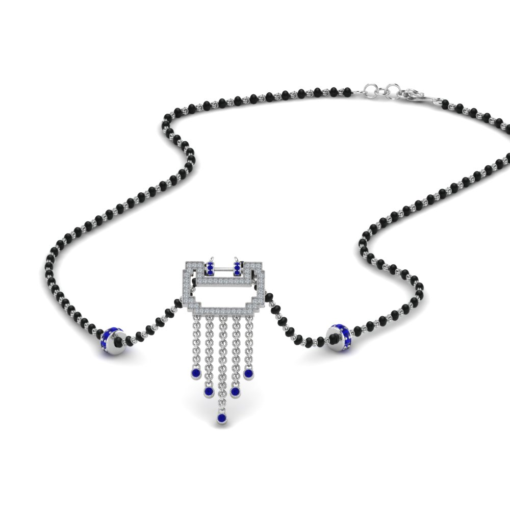 diamond-pendant-mangalsutra-for-bride-with-sapphire-in-MGS9031GSABL-NL-WG