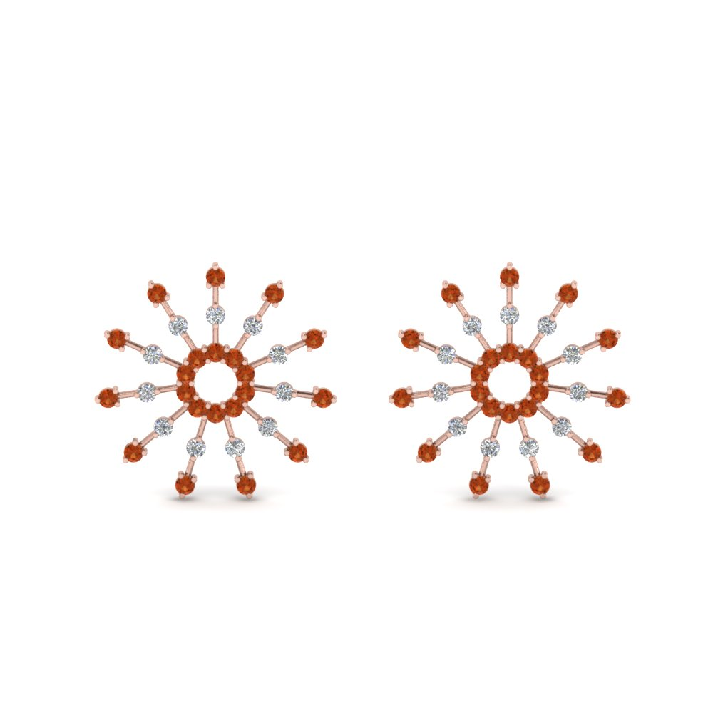 diamond-stud-circle-earring-with-orange-sapphire-in-FDEAR8867GSAOR-NL-RG