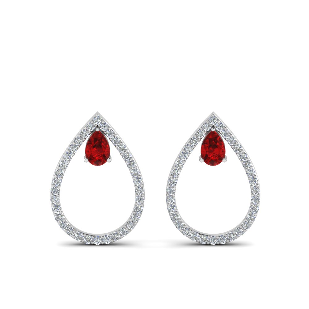 diamond-teardrop-ruby-stud-earring-in-FDEAR8859GRUDR-NL-WG