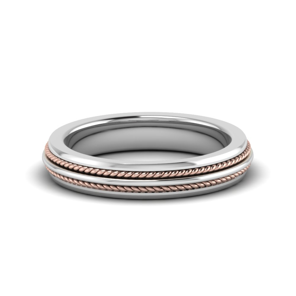 double rope design 2 tone band in FDM653069B NL WG