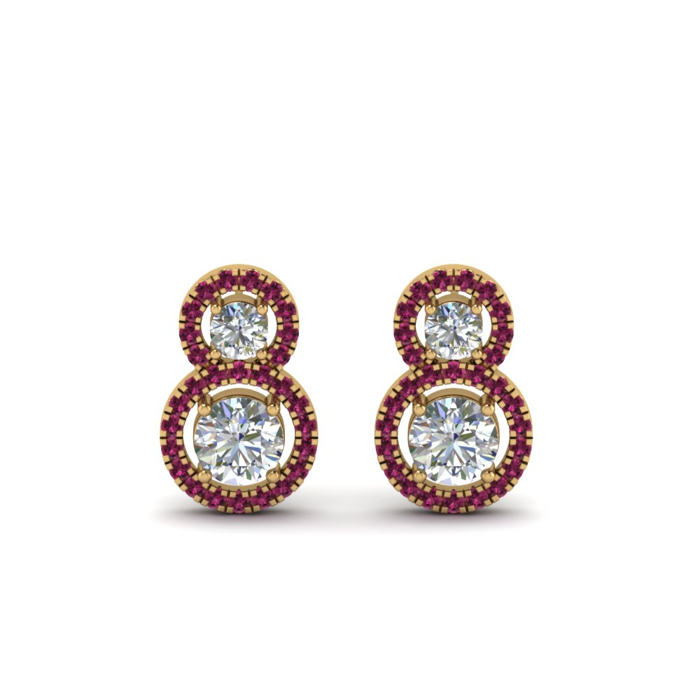 dual-drop-halo-diamond-earring-with-pink-sapphire-in-FDEAR8976GSADRPIANGLE1-NL-YG
