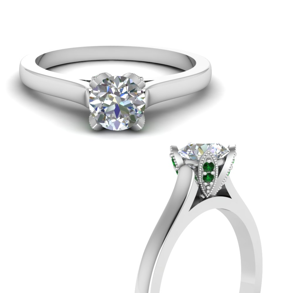 emerald cathedral diamond prong engagement ring in FDENR7960RORGEMGRANGLE3 NL WG.jpg