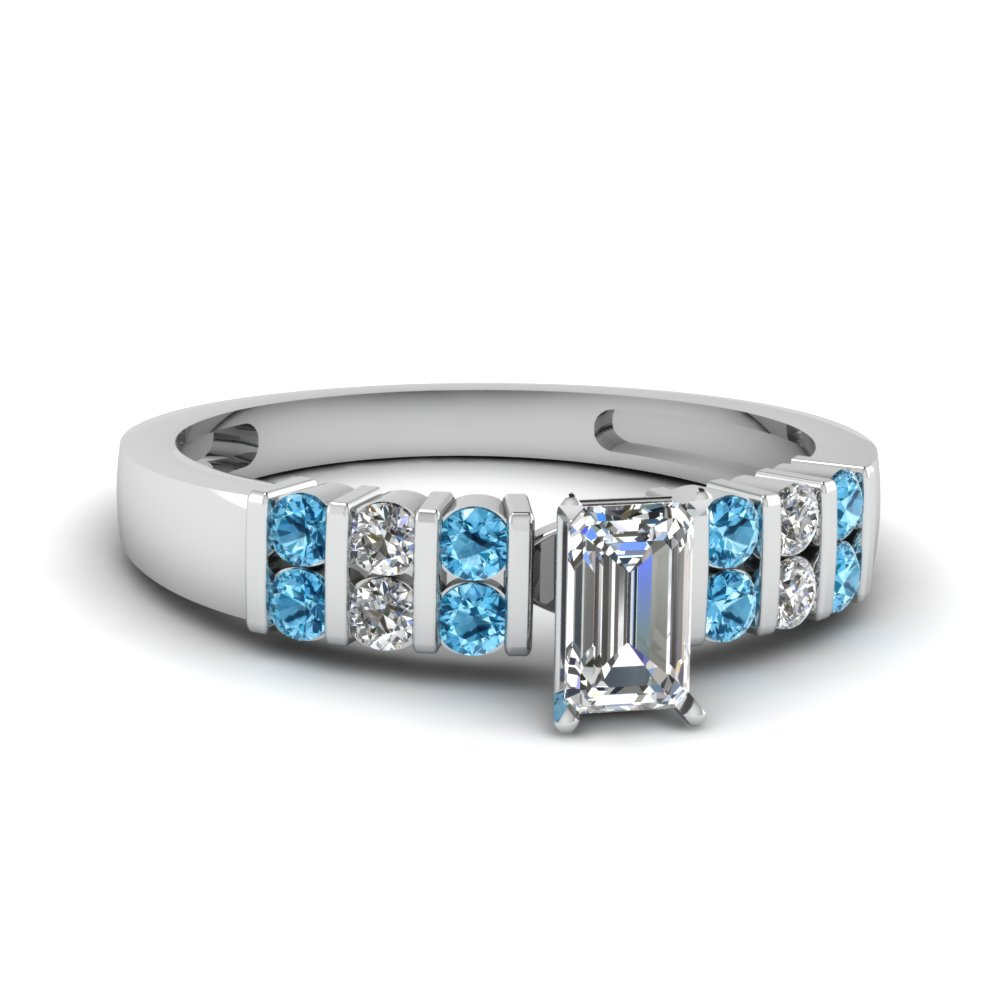 blue topaz rings fascinating diamonds