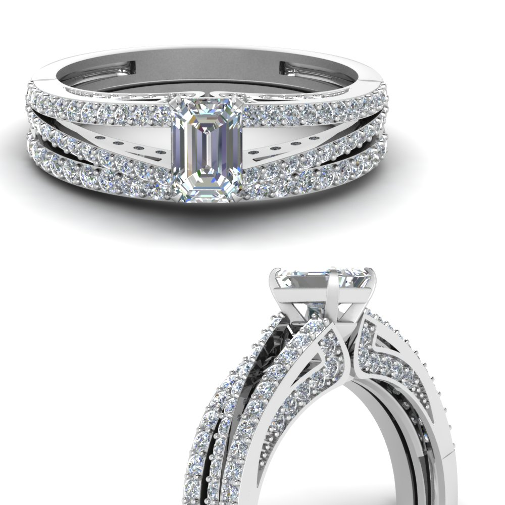 emerald-cut-diamond-wedding-ring-set-in-FDENS3131EMANGLE3-NL-WG
