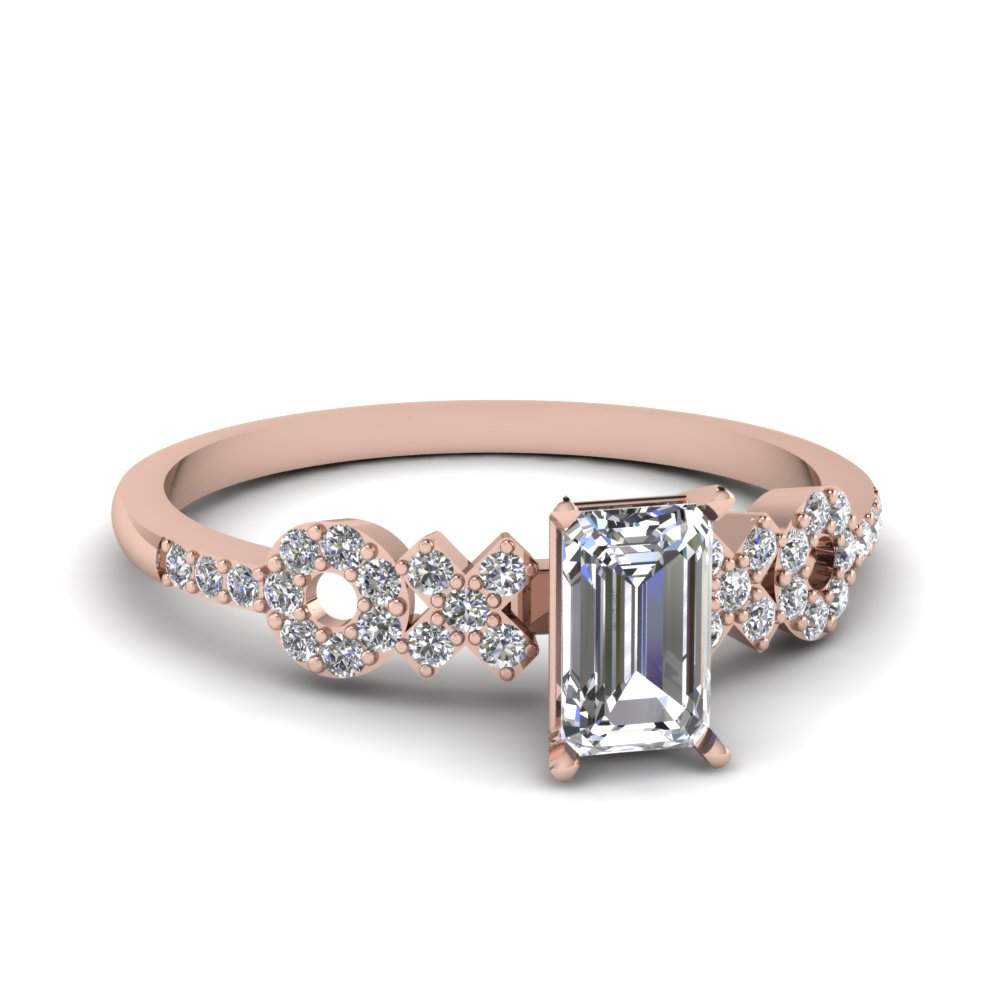 set in eternity white diamond baunat alliance half wedding gold carat en timeless ring