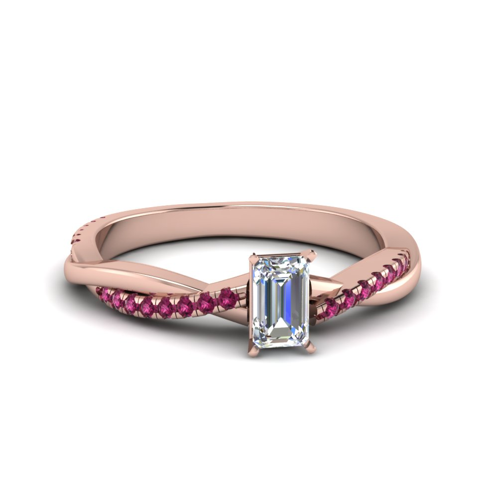 Infinity Twist Diamond Ring