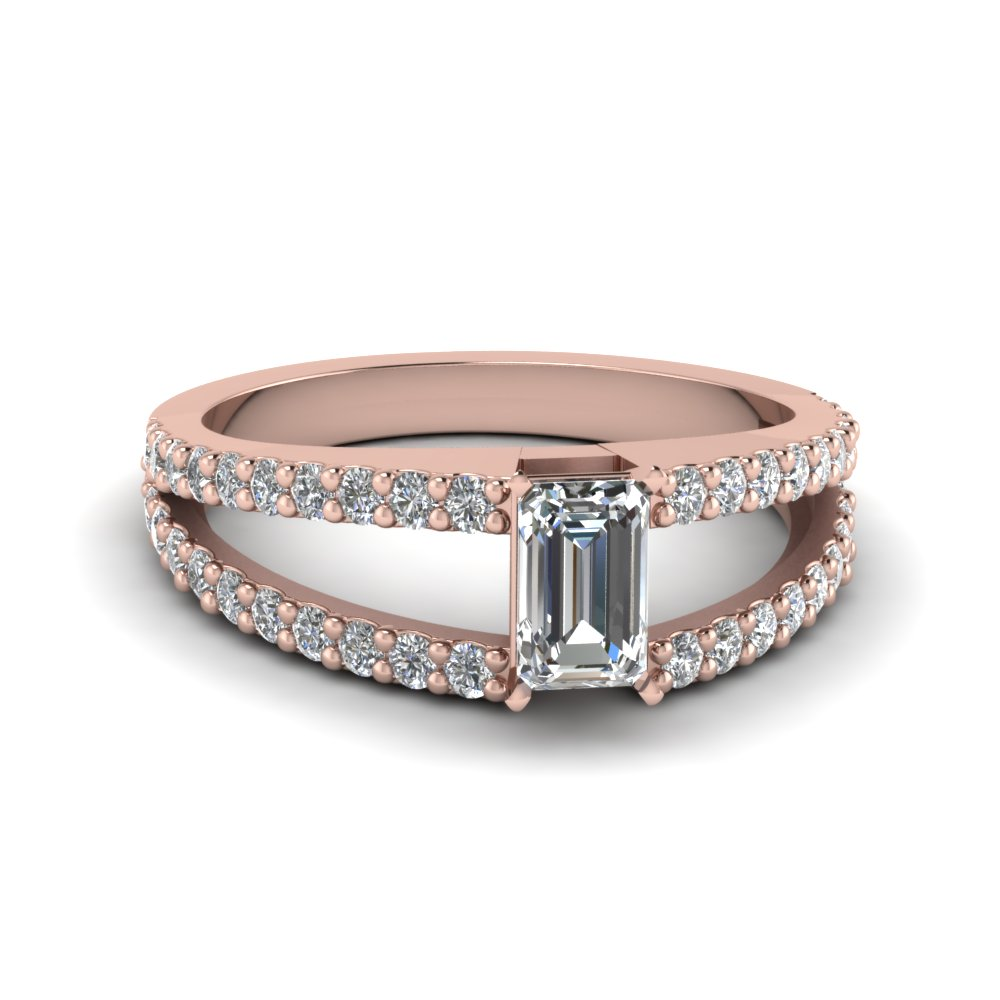 vinader monica lyst jewelry band white ring normal rings in pink product rose double gallery skinny diamond