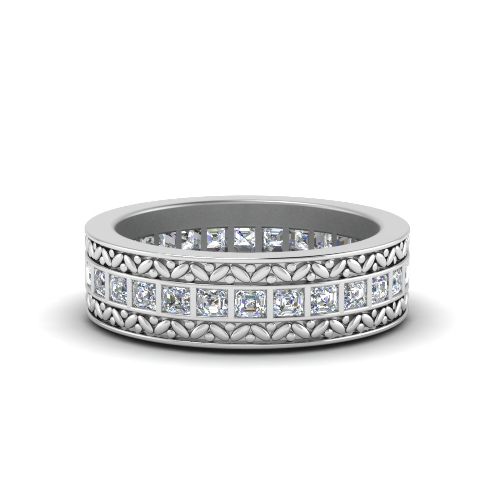 silvertone cluster faux silver beloved products zirconia cocktail paved wide cz ring statement tina bands diamond cubic sparkles eternity carat band